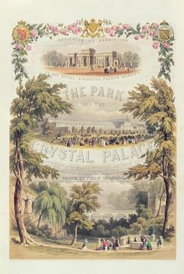 Frontispiece to 'The Park and the Crystal Palace', pub. by Day & Son
