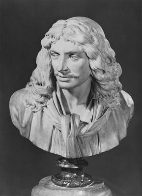 Bust of Jean-Baptiste Poquelin, known as Moliere, 1781