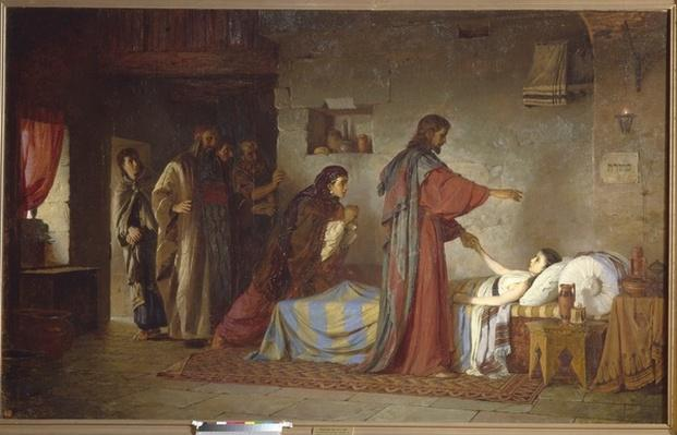 The Raising of Jairus' daughter, 1871