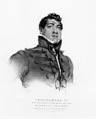 Tamehameha II, His Majesty the King of the Sandwich Islands, 1824