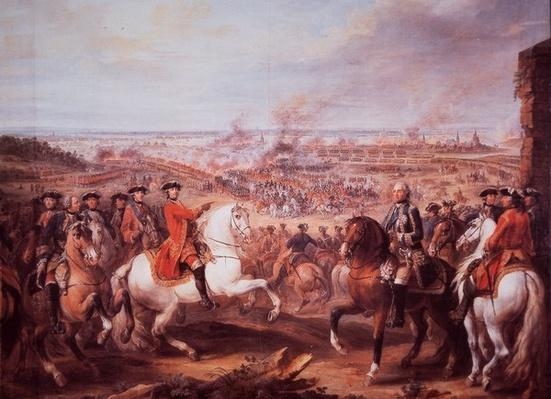 The Battle of Fontenoy