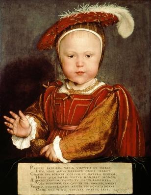 Portrait of Edward VI as a child, c.1538