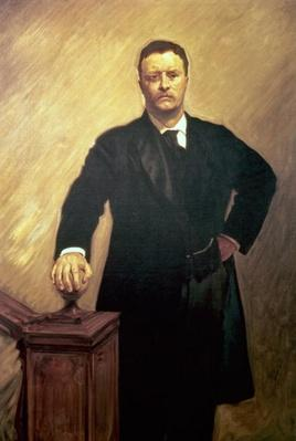 Portrait of Theodore Roosevelt by Sargent, John Singer (1856-1925)
