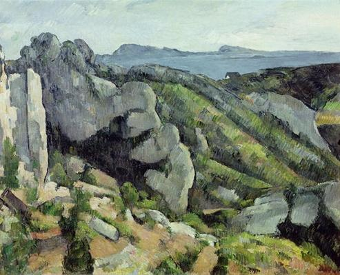 Rocks at L'Estaque, 1879-82