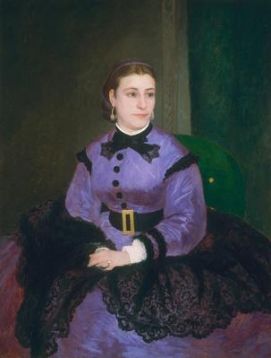 Portrait of Mademoiselle Sicot, 1865