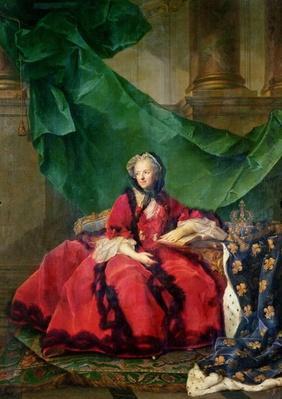 Portrait of Maria Leszczynska