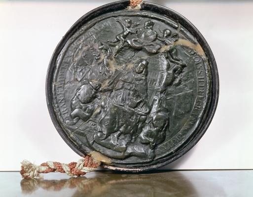 The seal of King Charles II