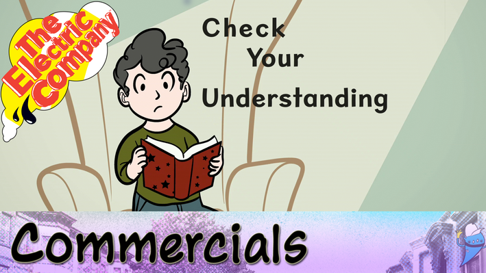 Commercial: Check Your Understanding