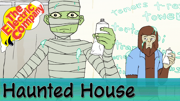 Haunted House: Toothpaste
