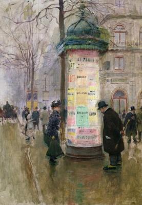 The Colonne Morris, c.1885