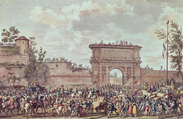 The Entry of the French into Milan, 25 Floreal An IV
