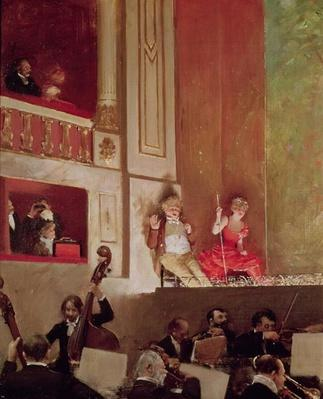 Revue at the Theatre des Varietes, c.1885
