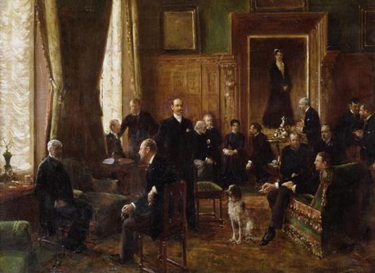 The Salon of the Countess Potocka, 1887