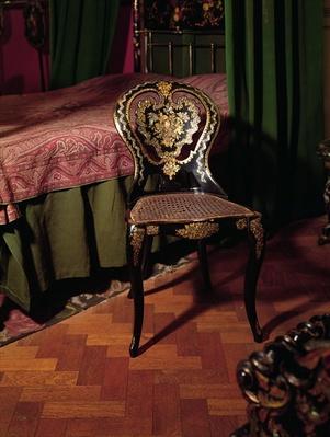 Chair, English, mid 19th century
