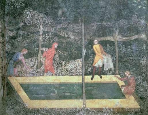 The Fish Pond, from the Stag Room, 1343