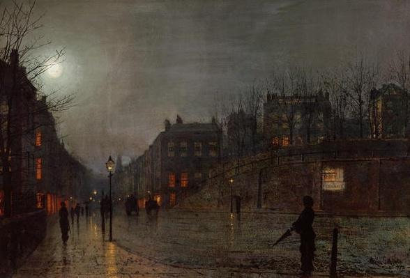 Going Home at Dusk, 1882