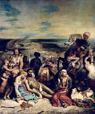 Scenes from the Massacre of Chios, 1822