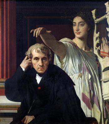 Portrait of the Italian Composer Cherubini