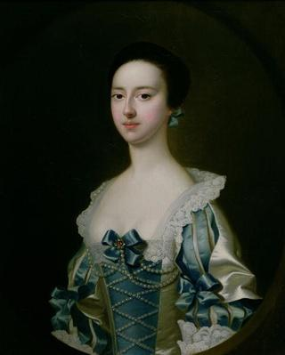 Anne Bateman, later Mrs. John Gisbourne, 1755