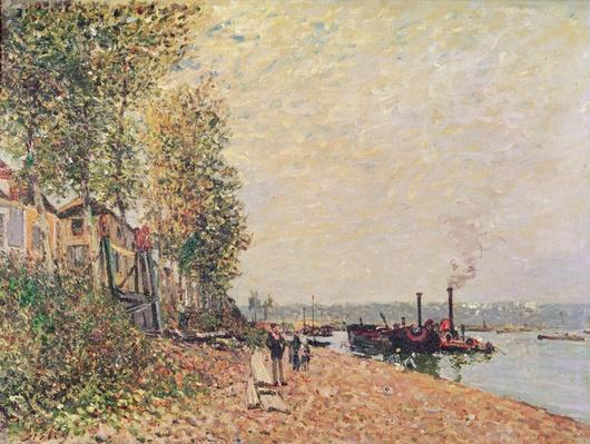 Steam Boats on the Loing at Saint-Mammes, 1877