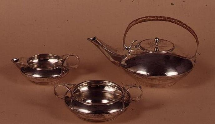 Tea service by Haseler and Co. for Liberty & Co., Birmingham, 1904