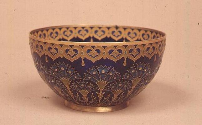 Plique-a-jour cup, Paris, c.1893