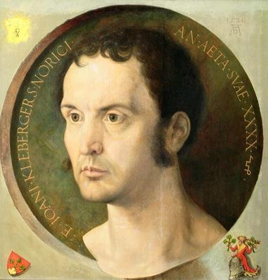 Johannes Kleberger, aged 40, 1526