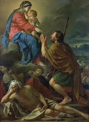 St. Roch Praying to the Virgin for an End to the Plague, 1780