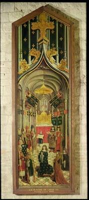 The Coronation of Louis XII in 1498, School of Amiens, c.1501