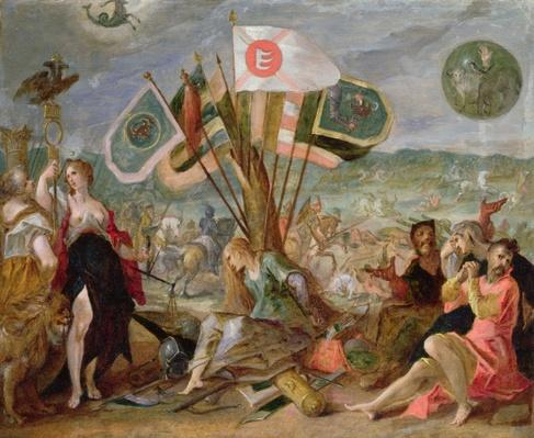 Allegory of the Turkish Wars: The Battle of Hermannstadt