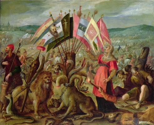 Allegory of the Turkish Wars: The Battle of Kronstadt, 1603/04