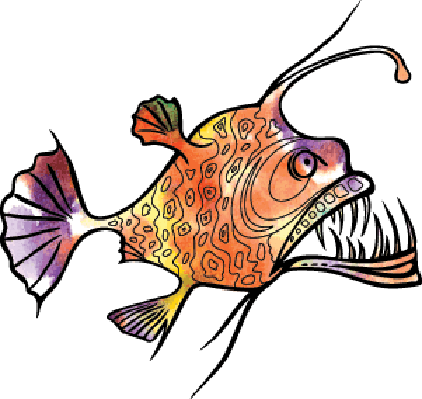Angler Fish   Clipart