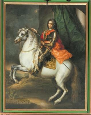 Equestrian portrait of Prince Eugene of Savoy