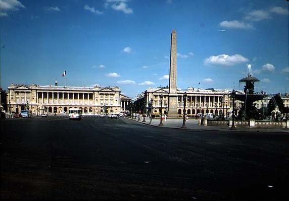 Place de la Concorde, 1755-75