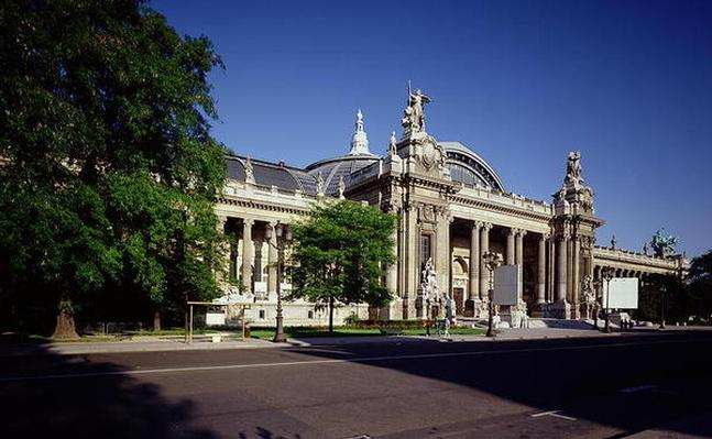 Facade of the Grand Palais, built by Henri Deglane