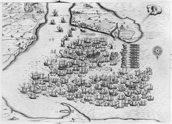 Naval battle of Saint-Martin-de-Re on 27th October 1622, Ile de Re