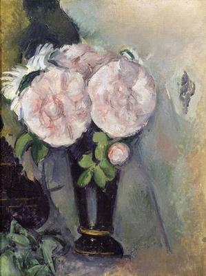 Flowers in a Blue Vase, c.1886