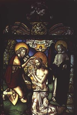 Panel Depicting the Baptism of Christ, 16th century