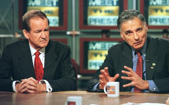 Pat Buchanan and Ralph Nader on 'Meet the Press' | U.S. Presidential Elections: 2000