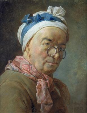 Self Portrait with Spectacles, 1771