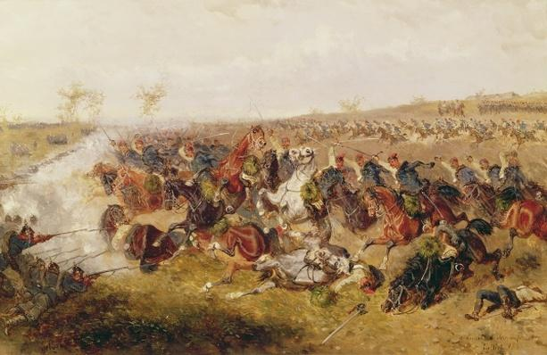 Battle of Schweinschaedel, 29th July 1866