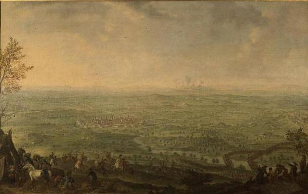 The Siege of Olmutz by the Prussian Army, 1758