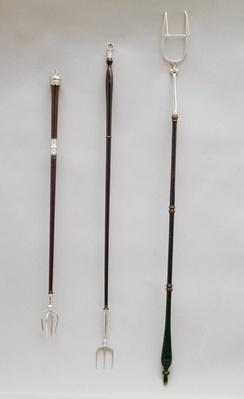 Toasting forks, London, 1794-98