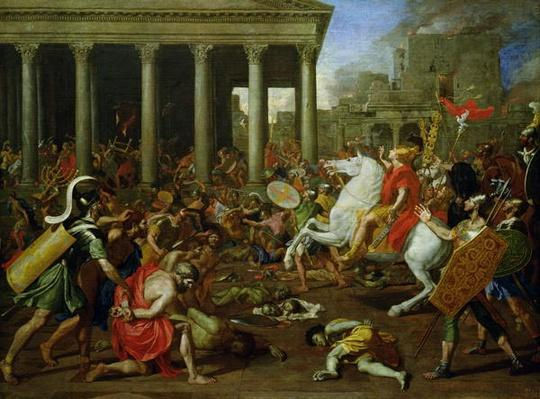 The Destruction of the Temples in Jerusalem by Titus, c.1638/39
