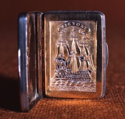 Vinaigrette, commemorating the Battle of Trafalgar, 1805-06