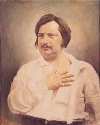 Portrait of Honore de Balzac