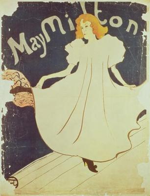 May Milton, France, 1895