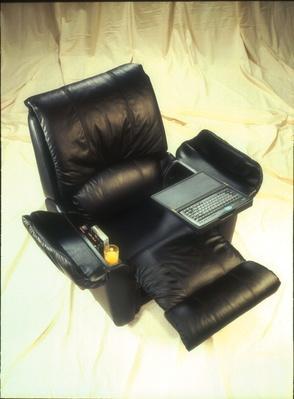 La-Z-Boy and Microsoft Introduce New Easy Chair | History of the Computer & La-Z-Boy and Microsoft Introduce New Easy Chair | History of the ...