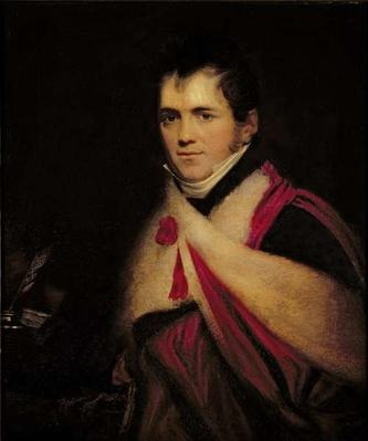 Portrait of Rev. Edward Daniel Clarke