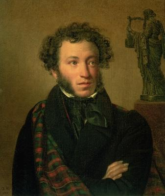 Portrait of Alexander Pushkin, 1827